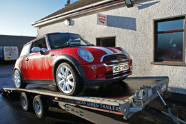 Car Transport - Dedicated vehicle logistics Northern Ireland